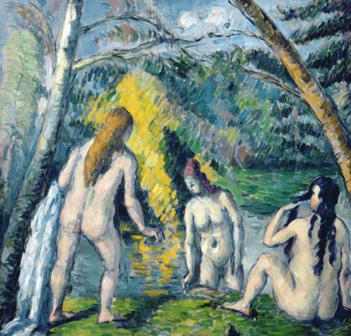 Cezanne Three Bather 1879-82