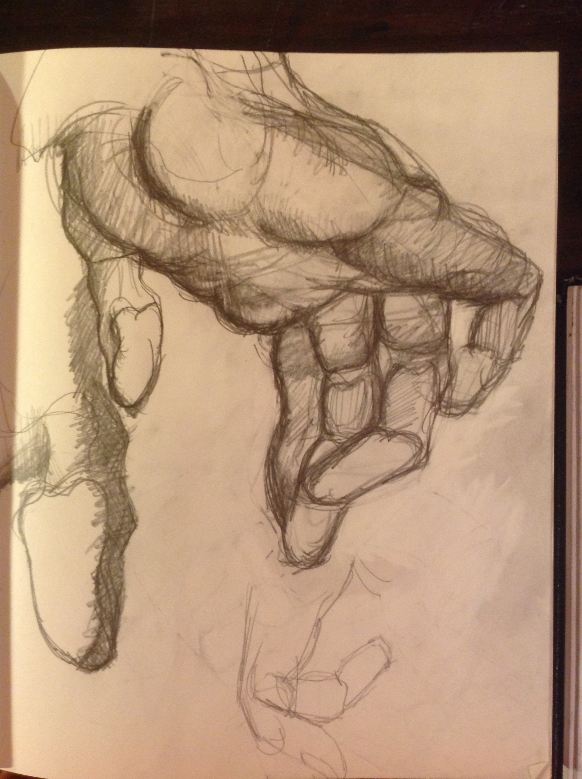 "STUDIES FROM BURNE HOGARTH\'S ""DYNAMIC ANATOMY"" 